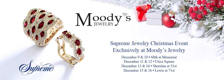 Moody\'s Jewelry: Supreme Event